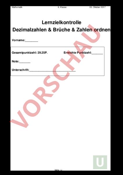 Niedlich Fraktionen In Dezimalzahlen Arbeitsblatt Zeitgenössisch ...