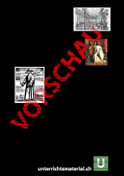 Arbeitsblatt: Industrialisierung - Geschichte - Neuzeit