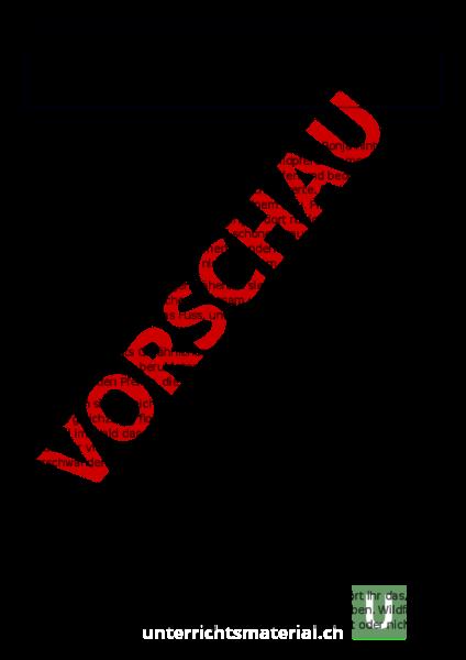 Arbeitsblatt: Textändnis Ronja Räubertochter - Deutsch - Textverständnis