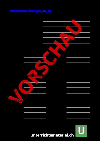 Ziemlich Si Einheitenumrechnung Arbeitsblatt Fotos - Arbeitsblatt ...