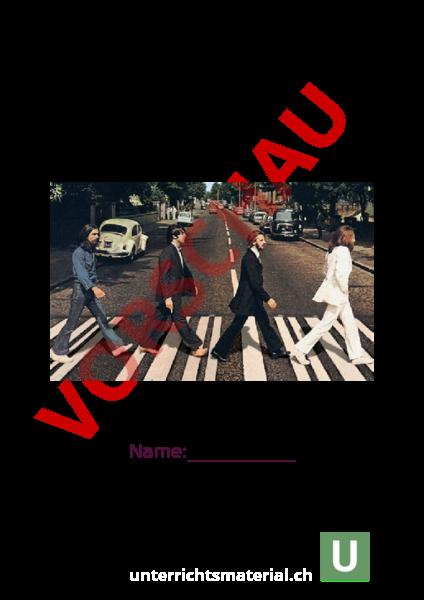 Arbeitsblatt: Beatles Dossier - Musik - Anderes Thema