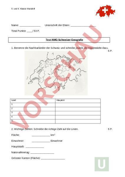 Test Schweiz
