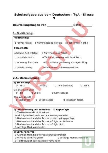 Sprachanalyse tga